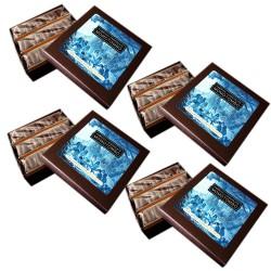 Momotombo-4 Dark Chocolates boxsChia,Sesame seed,Linseed,Coconut-4x90gr