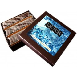 Momotombo-Dark Chocolates box-Chia,Sesame seed,Linseed,Coconut-90gr