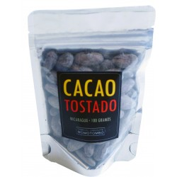Momotombo - Roasted Cocoa Beans in the Shell  - 100% Nicaraguan Cacao - 100gr