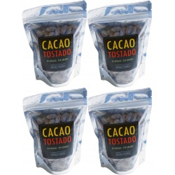 Momotombo - Roasted Cocoa Beans in the Shell  - 100% Nicaraguan Cacao - 4x250gr
