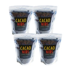 Momotombo - Roasted and Peeled Cacao Nibs  - 100% Nicaragua Cacao - 4x250gr