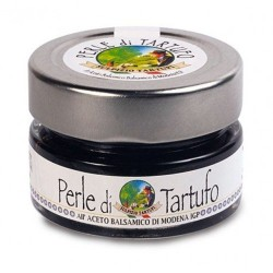 Sulpizio Tartufi - Black Truffle Pearls with Balsamic Vinegar - 50gr