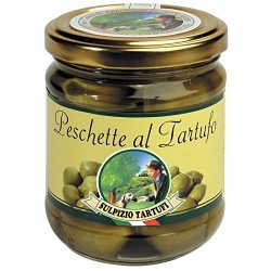 Sulpizio Tartufi - Truffled Dwarf Peaches - 300gr - Original Italian product