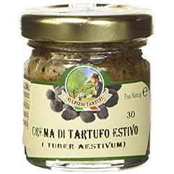 Sulpizio Tartufi - Black Summer Truffle cream - 30gr - Original Italian product